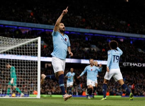 Gundogan ghi bàn vào cuối trận chấm dứt hy vọng lội ngược dòng của Man Utd. Ảnh: Reuters.