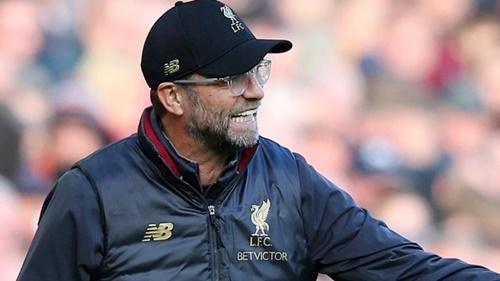 Liverpool của Jurgen Klopp giữ vị trí thứ nhì bảng điểm sau trận thắng Fulham. Ảnh: EPA.