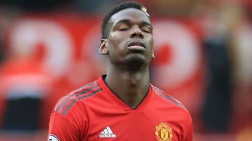 Thi?u Pogba khi?n Man Utd g?p khó trong vi?c tri?n khai bóng. ?nh: Reuters.