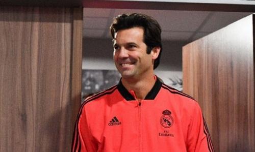 Solari được Real ký hợp đồng dài hạn. Ảnh: AFP.