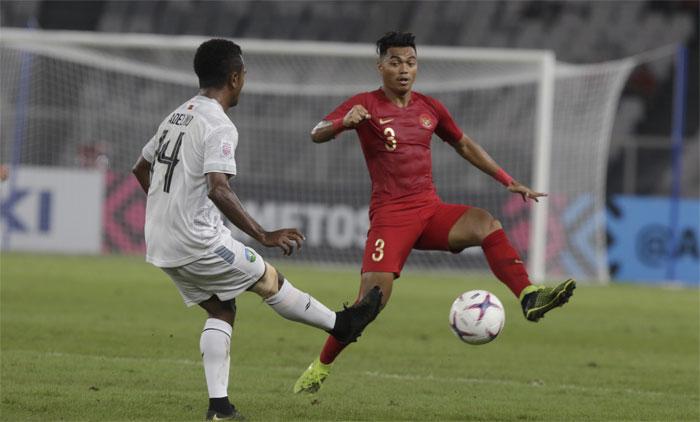 Timor (áo trắng) khiến Indonesia thực sự đau đầu. Ảnh: AFF