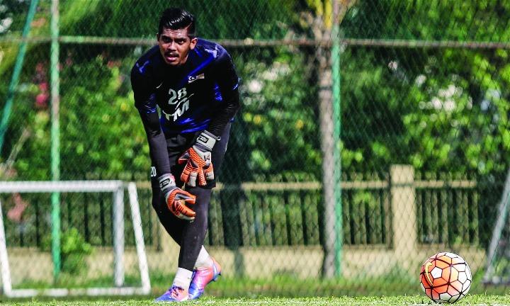 Hakim là thủ môn số hai của Malaysia nhưng được nhiều CLB hàng đầu khu vực để mắt. Ảnh: MalayMall.
