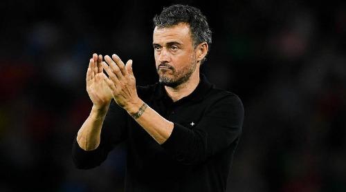 HLV Luis Enrique và Tây Ban Nha sẽ đi tiếp nếu không thua Croatia. Ảnh:AFP.