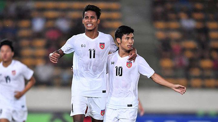 Trước mắt Myanmar là hai đối thủ cạnh tranh trực tiếp tấm vé vào bán kết: Việt Nam ngày 20/11 và Malaysia ngày 24/11. Ảnh: AFF.