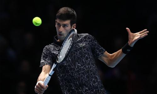 Djokovic toàn thắng tại vòng bảng ATP Finals 2018