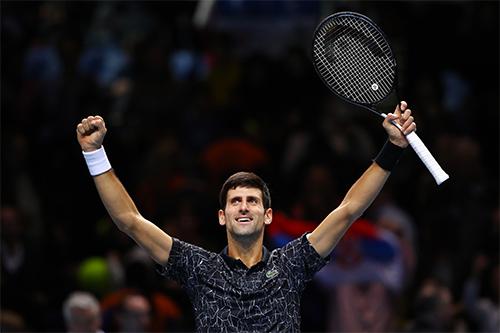 Djokovic đã thắng 35 trong 37 trận gần nhất. Ảnh: Sky.