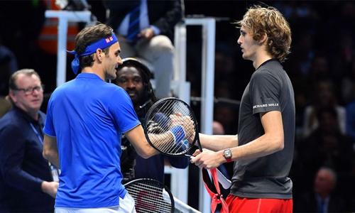 Federer lỗi hẹn với Djokovic tại chung kết ATP Finals