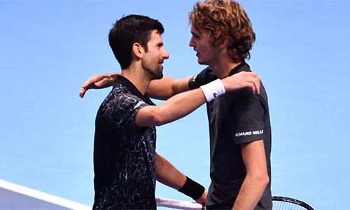 Djokovic thua trận chung kết thứ hai liên tiếp trong hai tuần. Ảnh: Sky.