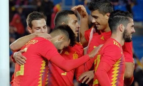 Tây Ban Nha khép lại năm 2018 bằng trận thắng Bosnia & Herzegovina