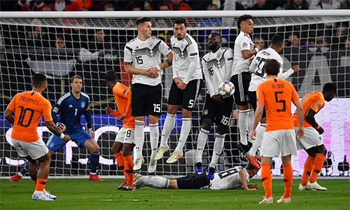 Đức không còn chút nào hình bóng của nhà vô địch World Cup cách đây bốn năm.