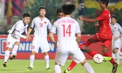 Việt Nam 0-0 Myanmar (hiệp hai): Văn Toàn bị tước bàn thắng