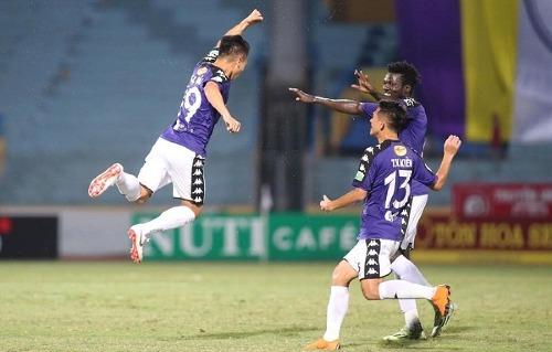 Hà Nội vô địch Nuti CaféV-League 2018 thuyết phục. Ảnh: Lâm Thỏa.