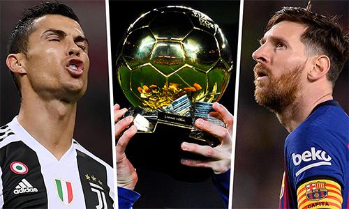 Ronaldo và Messi được cho là khó có thể đoạt Qủa Bóng Vàng năm nay.