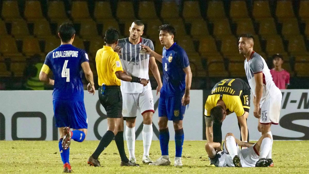 Thái Lan bộc lộ nhiều điểm yếu sau trận đấu Philippines