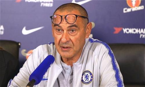 HLV Sarri nhiều lần tuyên bố khiêm tốn về mục tiêu của Chelsea.