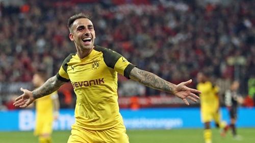 Alcacer chính thức là người của Dortmund. Ảnh: Reuters.