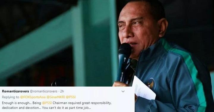 Chủ tịch Edy tiếp tục hứng búa rìu dư luận sau phát biểu ám chỉ truyền thông Indonesia gián tiếp khiến đội tuyển bị loại. Ảnh: Fox.
