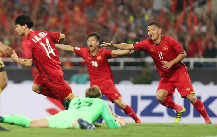 Một chiến thắng là điều nằm trong tầm tay Việt Nam, nếu các cầu thủ chơi đúng với khả năng. Ảnh: Đức Đồng.