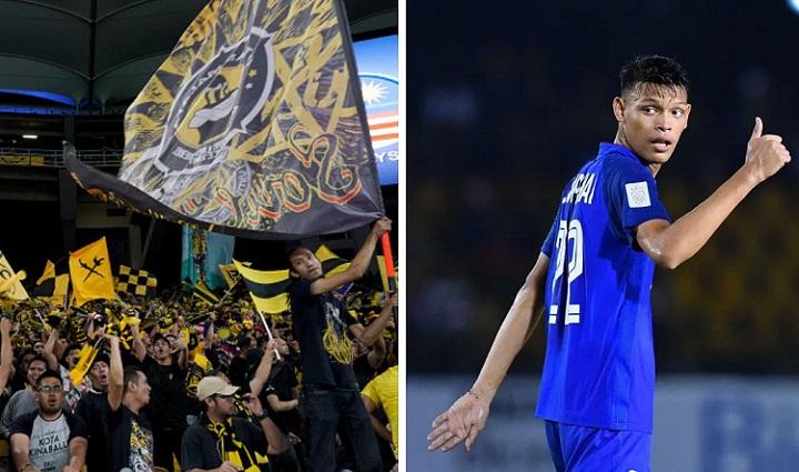 Mới 19 tuổi nhưng Supachai không e ngại sức ép từ các CĐV Malaysia. Ảnh: Fox.