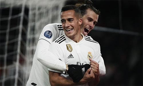Real sớm nhẹ gánh ở Champions League.