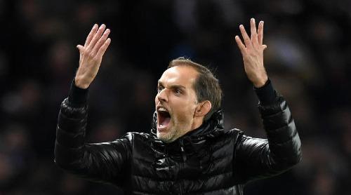 HLV Tuchel thoát được áp lực lớn sau trận thắng Liverpool. Ảnh:AFP.