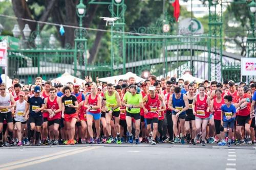 Xuất phát từ Thảo Cầm Viên, các vận động viên có cơ hội được trải nghiệm một vòng thành phố Hồ Chí Minh trước khi về đích tại Thủ Thiêm, Quận 2.