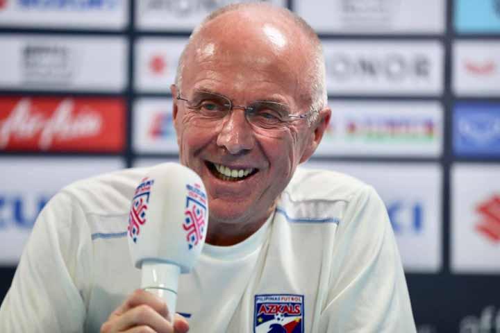 HLV Eriksson cho biết đã xem rất nhiều trận đấu của tuyển Việt Nam, biết rõ điểm mạnh, điểm yếu của đối thủ. Ảnh: Đức Đồng