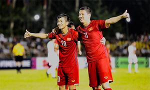 Việt Nam thắng bán kết lượt đi trên sân Philippines