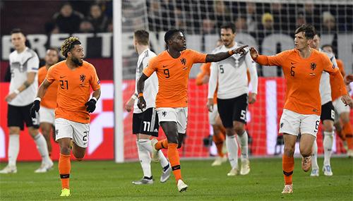 Gặp lại nhau ở vòng loại Euro 2020 là cơ hội để Đức phục hận Hà Lan.