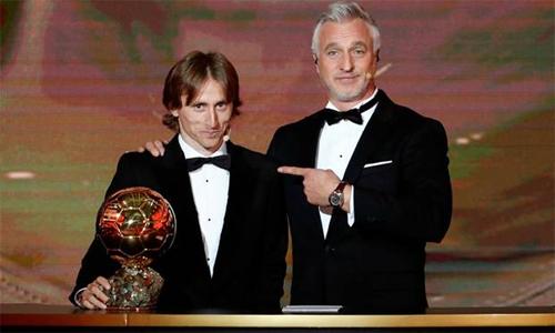 Modric đoạt Quả Bóng Vàng trong sự tiếp nhận một cách miễn cưỡng của người Pháp.