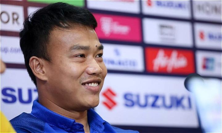 Chatchai tự tin Thái Lan sẽ làm gỏi Malaysia. Ảnh: AFF.