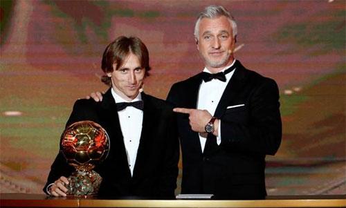 Modric chiến thắng một cách thuyết phục. Ảnh: Reuters