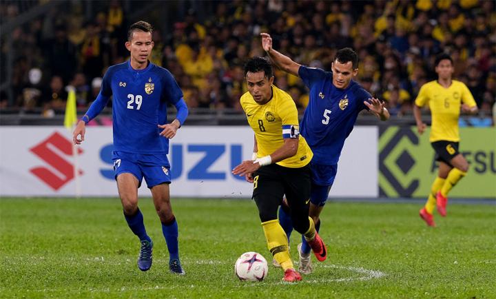 Zaquan (số 8) đã có một trận đấu rất thành công với Malaysia. Ảnh: Fox Sports