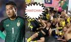Cầu thủ Malaysia vờ ngủ để giễu Thái Lan sau khi vào chung kết