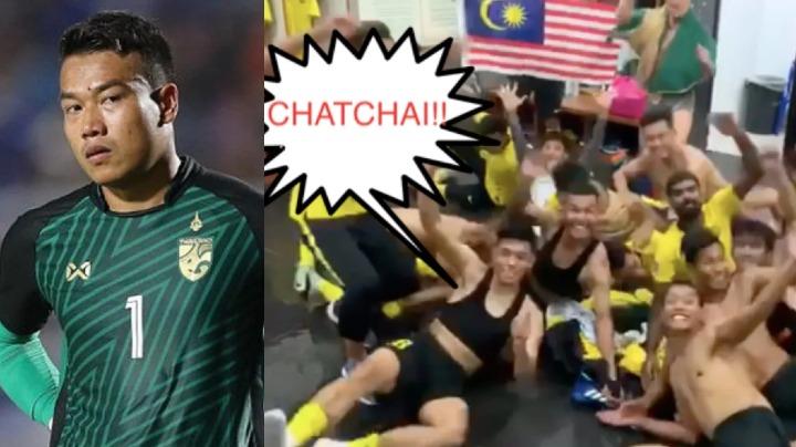 Chatchai trở thành tâm điểm của sự chế giễu sau khi Thái Lan dừng bước ở AFF Cup. Ảnh chụp màn hình.