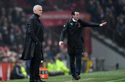 Mourinho chưathể giúp Man Utd cắt mạch không thắng tại Ngoại hạng Anh. Ảnh:AFP.