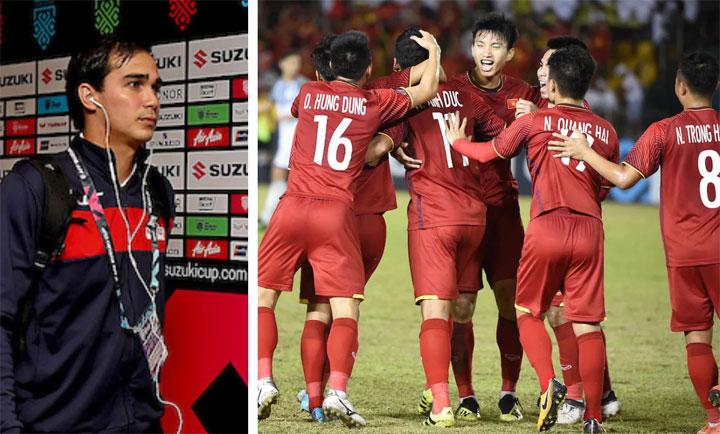 James đánh giá rất cao đội bóng trẻ trung và giàu tiềm năng của Việt Nam.