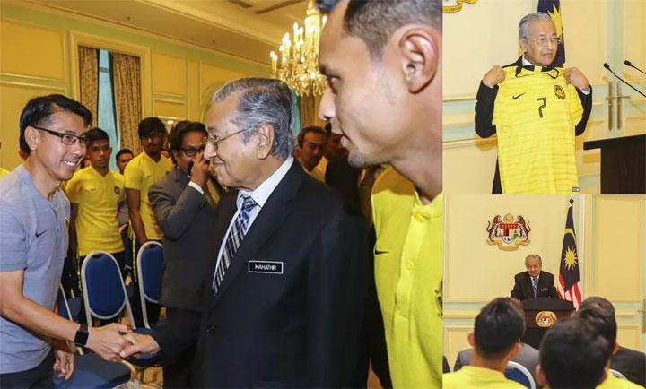 Thủ tướng Malaysia tiếp thầy trò HLV Tan Cheng Hoe.