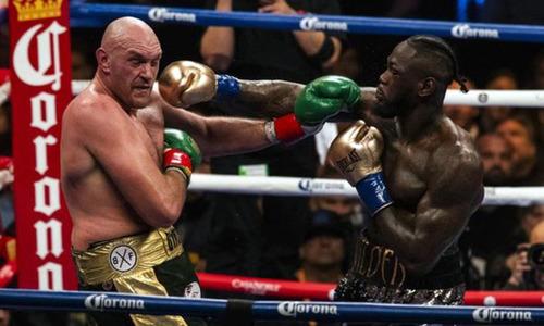 Tyson Fury hùng hục tập luyện chờ tái đấu Wilder