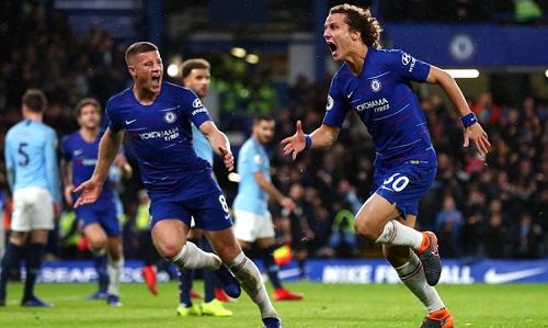 Luiz khen Man City và cho rằng Chelsea đã khiêm tốn trước đối thủ. Ảnh: Reuters.