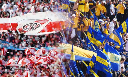 Mất trung bình mỗi người gần 2.000 đôla để đến Madrid, nhưng vẫn có 25.000 CĐV mỗi đội có mặt tại Bernabeu xem River đấu Boca hôm nay. Ảnh: AP.