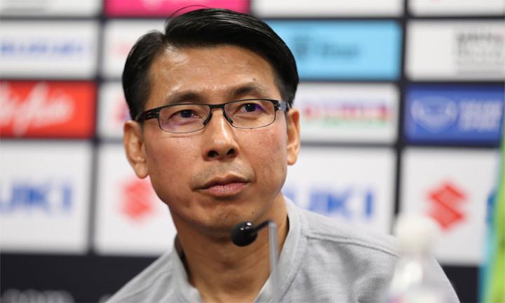 Tan Cheng Hoe mới nhậm chức HLV trưởng tuyển Malaysia. Ảnh: Đức Đồng.