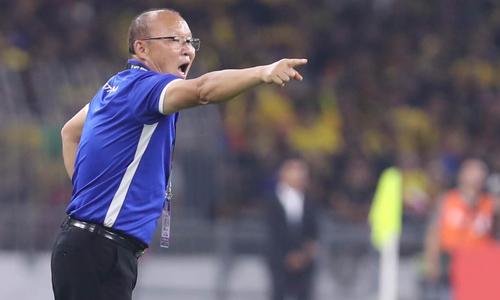 Ông Park thất vọng khi tuột chiến thắng trước Malaysia