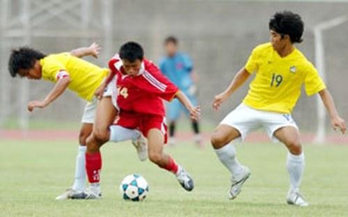 Giải đấu năm 2008 tại Huế, U21 Việt Nam thất bại trước đội tuyển Thái Lan và Iran. Ảnh: Báo Sài Gòn Giải Phóng