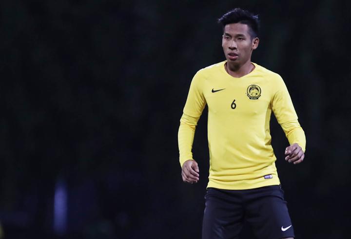 Syazwan Andik cho biết tuyển Malaysia có thể thích ứng được với thời tiết lạnh tại Hà Nội. Ảnh: Đức Đồng