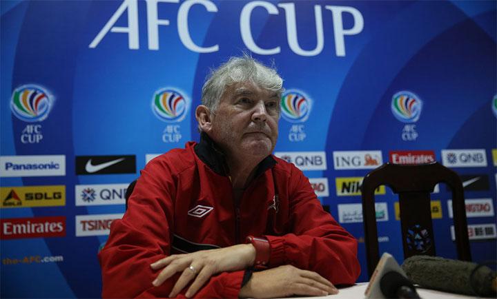 HLV người Anh, Steve Darby từng có nhiều kinh nghiệm làm việc với bóng đá châu Á nói chung và Đông Nam Á nói riêng. Ảnh: AFC