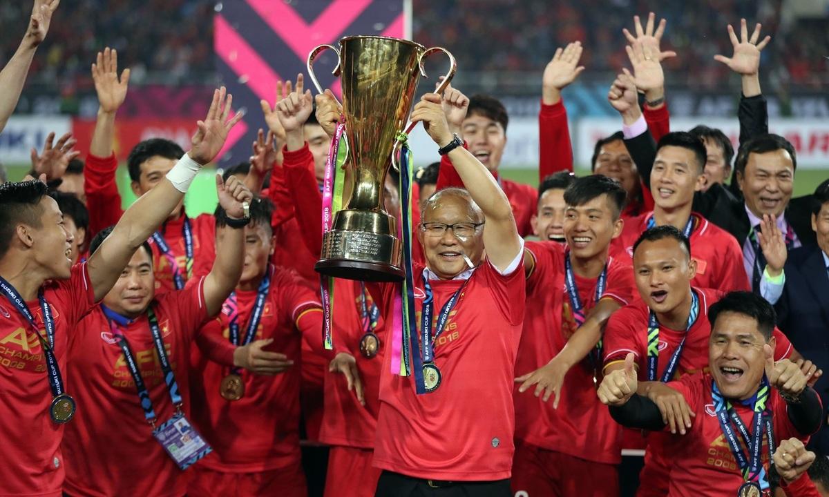 Việt Nam vô địch AFF Cup 2018 - V9Sport.com
