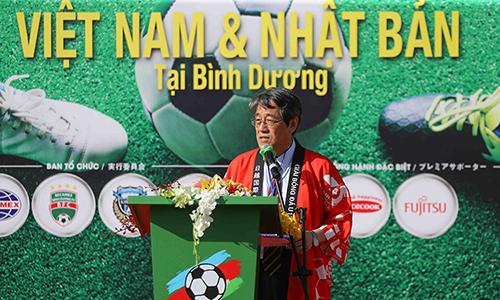 Đại sứ Kunio rất tin tưởng ở khả năng vô địch AFF Cup 2018 của tuyển Việt Nam.