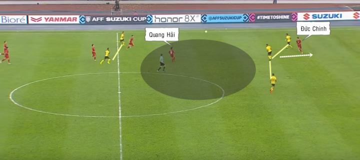Đức Chinh, Quang Hải và trò chơi chuyển trạng thái - 2