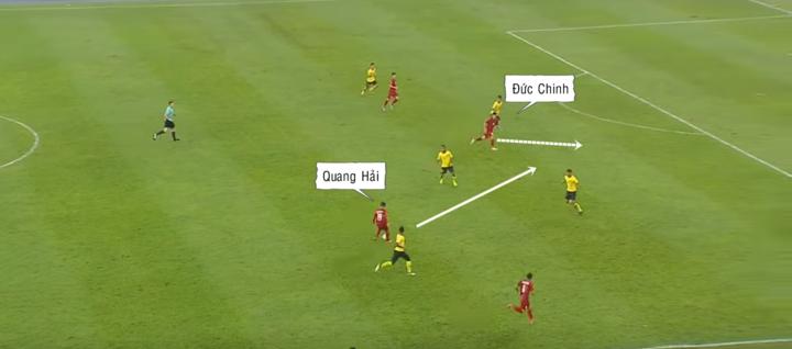 Đức Chinh, Quang Hải và trò chơi chuyển trạng thái - 4